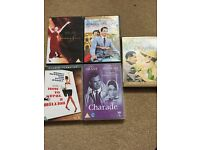 5 Audrey Hepburn DVDs