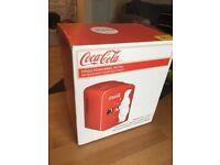 Coca-Cola Christmas Bear Mini Fridge