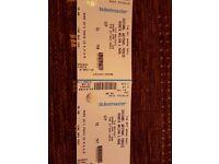 Met arena reunion 2016 x2 vip tickets