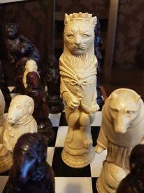 Bereley Chess Set Renard The Fox