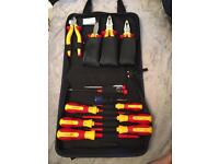 Brand new tool bag of screwdrivers and pliers