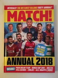 Match Annual 2018 for sale