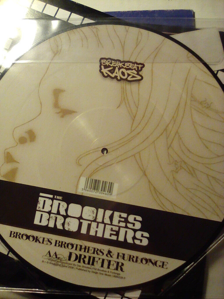 "Brookes Brothers Tear You Down picture 12"" vinyl"