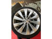 "Vw scirocco 18"" wheels"