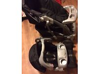 Black Graco Push chair & Car seat set