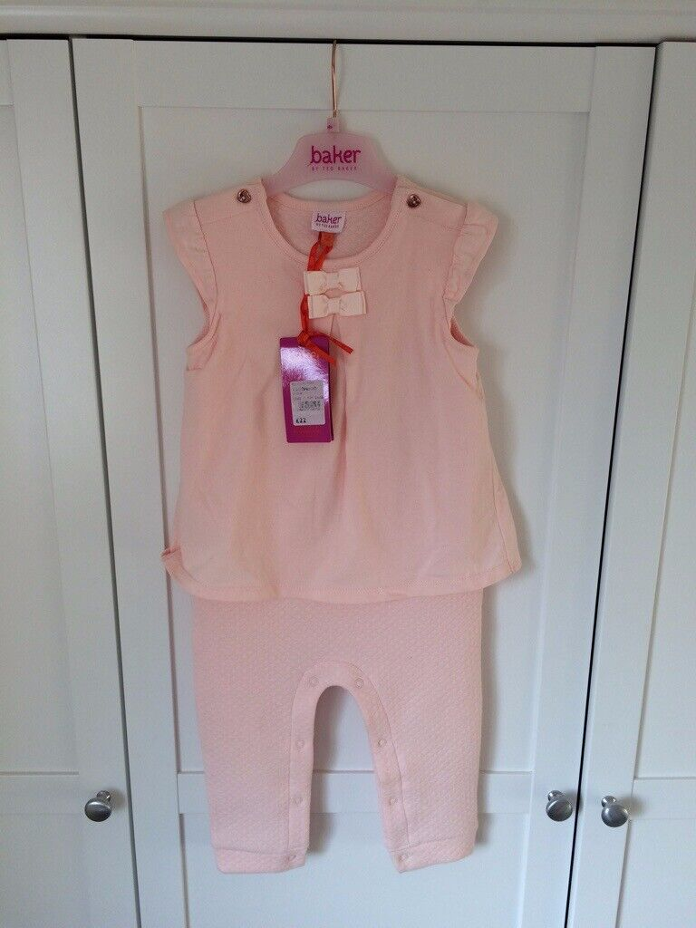0b53d1628 Ted Baker Baby Girl all in one outfit (New with tags)
