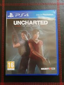 Uncharted lost legacy ps4 game