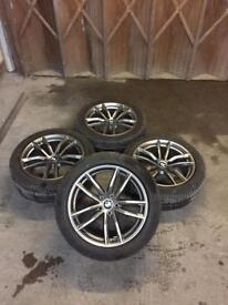 "Bmw 5 series g30/31 18"" 662m alloy wheels"