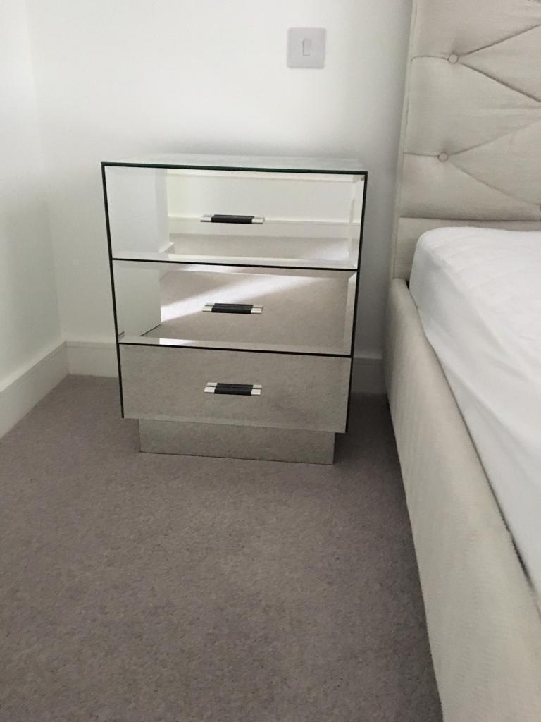 Next Mirrored Bedroom Furniture In Swindon Wiltshire