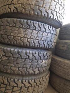 Set of 4 FORD RANGER Tires & Rims