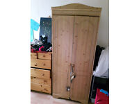 LARGE WOODEN WARDROBE / MUST SELL THIS WEEKEND