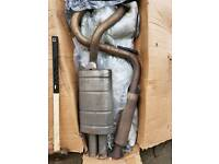 Corsa D Exhaust system back box middle section