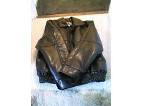 Ladies Italian leather jaket