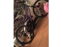 Girls mountain bike fair condition muddyfox