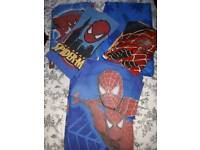 3 Single Spiderman Bedding