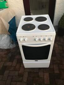 Tidy. 50cm. Belling. Electric. Cooker.