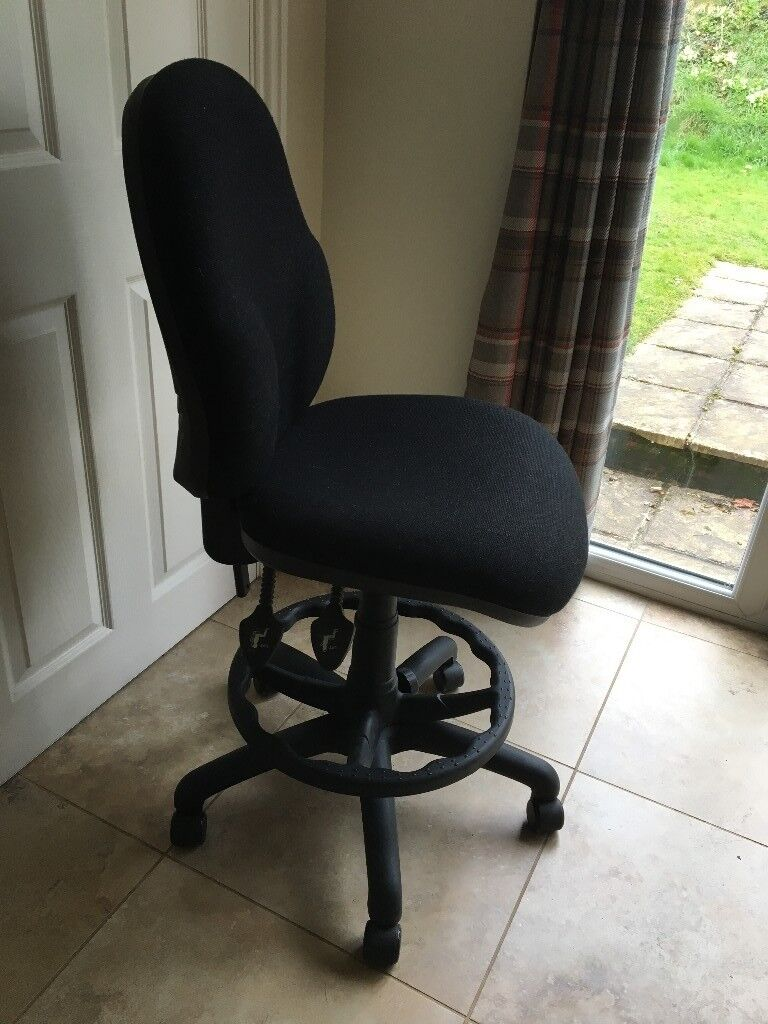 fully adjustable office chair. Draughtsman / Office Swivel Chair - Fully Adjustable E