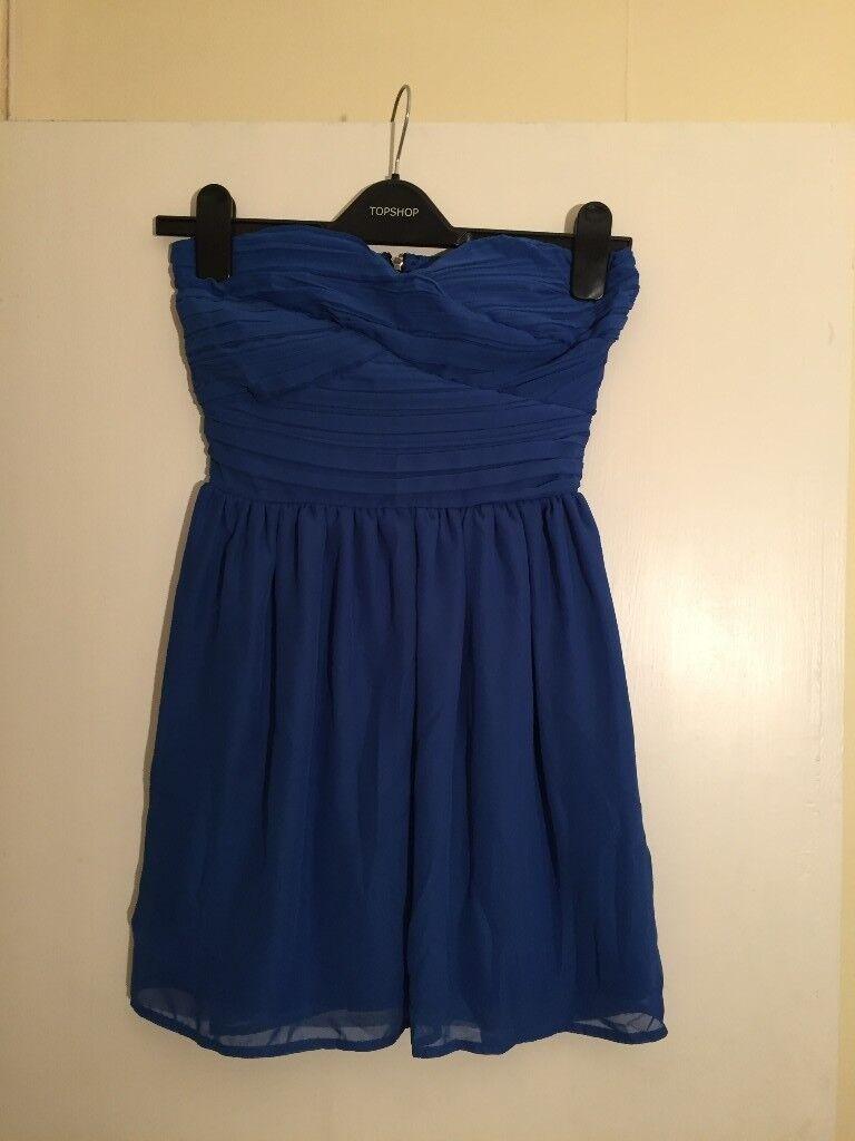Topshop Rare Bandeau Dress