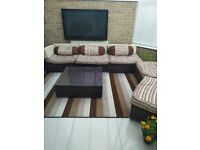 Sofa for conservatory