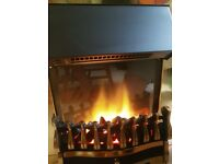 Fire placw with frame