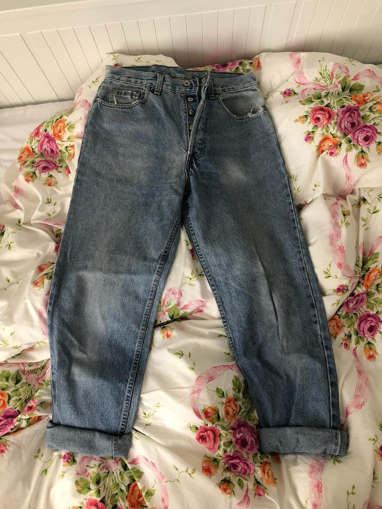 Levi's original vintage high waisted mom jeans 618 size 14 or 12