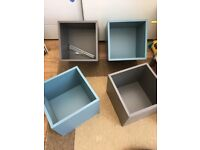 4 IKEA floating shelves, really good condition.
