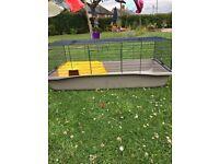 Indoor rabbit hutch/cage