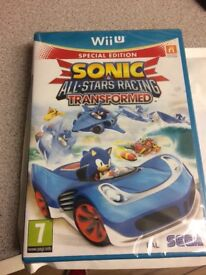 Wii u sonic all stars game brand new all sealed