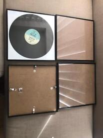 Great condition 4 x record picture frames