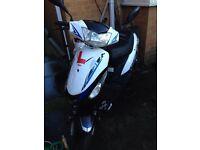 50cc Longjia Digita Moped Runs and rides as should