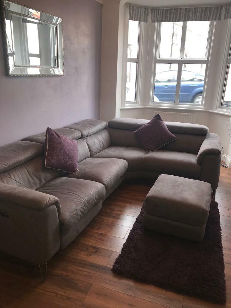 Dfs Tahiti Corner Sofa Grey In Kings Lynn Norfolk Gumtree