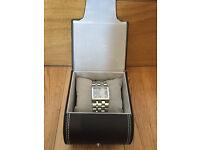 Police Glamour Ladies Quartz Watch - Grey / Sky Blue Dial Stainless Steel Bracelet