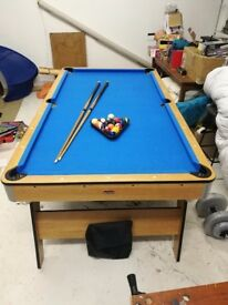 BCE sport table 6ft folding pool table