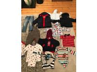 Mix selection of children's clothes