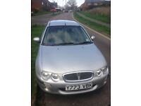 Rover 25 1.4 16v IL forsale cheap reliable car