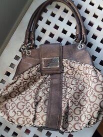 Designer Guess handbag- excellent condition