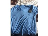 All saints t shirt new with tags medium blue