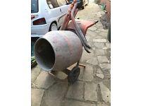 Bella cement mixer concrete mixer 240v