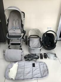 Joolz Day Travel System with BeSafe Izi Go Car Seat