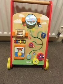 Wooden baby walker RRP £40