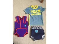 Toddler swim gear 6month - 3 yrs