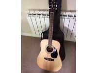 Cort acoustic guitar. Great condition. Mahogany back. Beautiful guitar