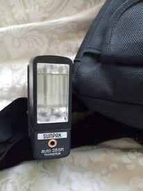 Sunpak 28SR Flash Gun