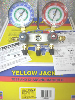 Yellow Jacket Titan R12r22 R134a 2-valve 49846