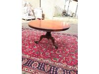 Victorian mahogany Snap top table