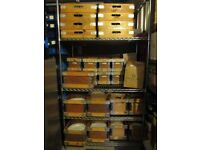 Churchill China - Chateau. in wooden purpose made boxes - 779 pieces suitable for wedding