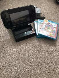 Wii U 32GB console and games