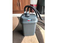 Fluval 304 external filter for fish tank v g c full work all clean in side with pipe look pic