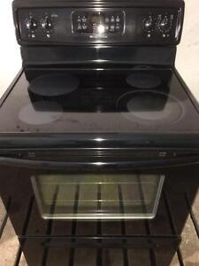 Frigidaire Self Cleaning Black Stove, FREE 30 day warranty