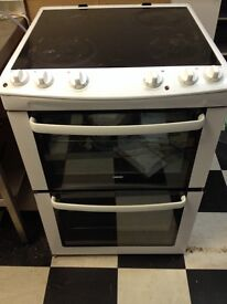 Zanussi Electrical Oven With 4 Hoobs (reduced to 75)